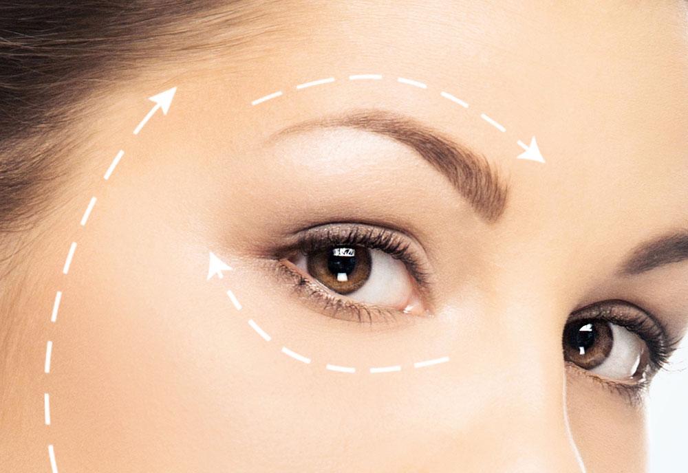 Blefaroplastia superior plástica facial